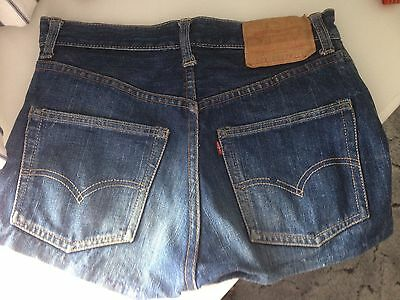 "Vintage Levi 1960""s denim shorts"