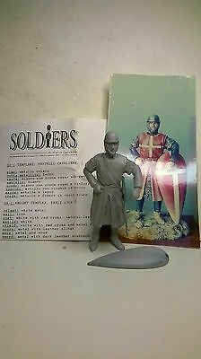 Templare-Fratello Cavaliere XII° - soldatino in piombo 54mm-ditta Soldiers