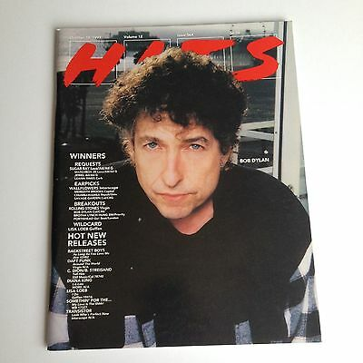 Bob Dylan Hits Magazine Oct 10 1997 Full Edition Rare! Streisand Dion