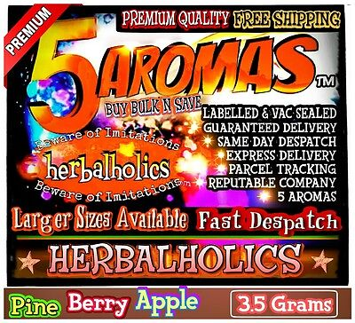 Herbal Aromatherapy Blends Natural Scented Fruity Aromatics 3.5g Premium+Organic
