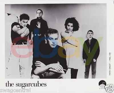 The Sugarcubes Original 8x10 Publicity Photo Bjork I