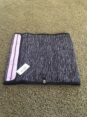 Nwt Ivivva By Lululemon Knits Happening Scarf Pink And Black