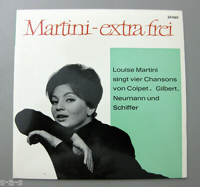 "Louise Martini - ""Martini - extra frei"" Chansons Colpet, Gilbert, Schiffer DGG"