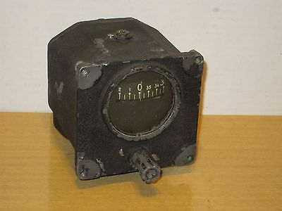 Vtg Sperry AN5735-1 US Military Aircraft Directional Gyro Indicator Gyroscope