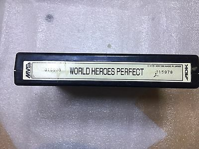 World Heroes Perfect Neo Geo Cartridge