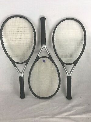 Head Racquet Ti S6 Lot of 3, 2 Grip Size 4 3/8, 1 Grip Size 4 5/8 Racket