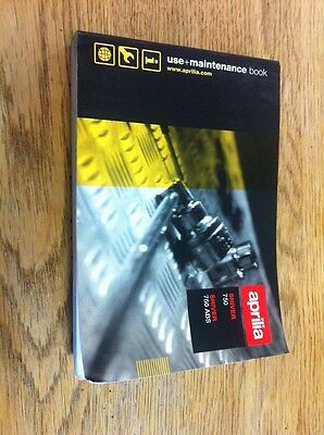 Aprilia Shiver 750 Use And Maintenance Owners Manual Hand Book French Deutsch