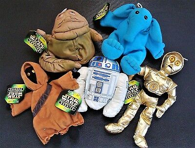 1997 Star Wars Buddies Lot