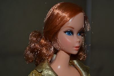 #1115 Titian Nape Curl Talking Barbie 1969 Mint
