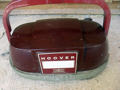 Grand Old Working Vintage Hoover Floor Polisher!! Use And Display!!
