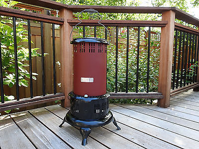 Antique Vintage BOSS No. 8*PERFECTION HEATER CLONE*FULLY RESTORED