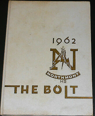The Bolt Northmont High School Yearbook 1962 Clayton Ohio Thunderbolts Book