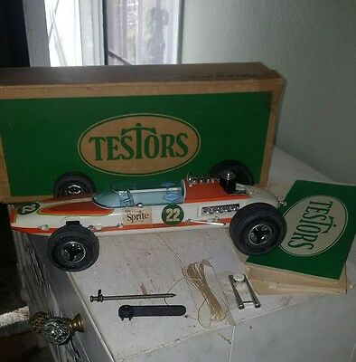 Vintage Testors Sprite Special Racing Indy Gas Operated Car in Original Box