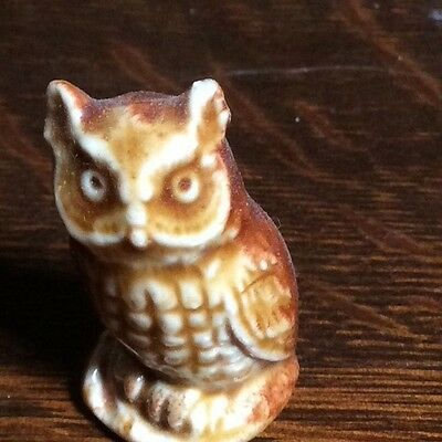 Wade Red Rose Tea Canadian Edition Animals Collection Owl