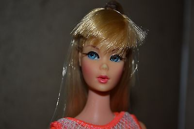 Vintage Barbie Sun Kissed Blonde TNT with Original Swim Suit Mint