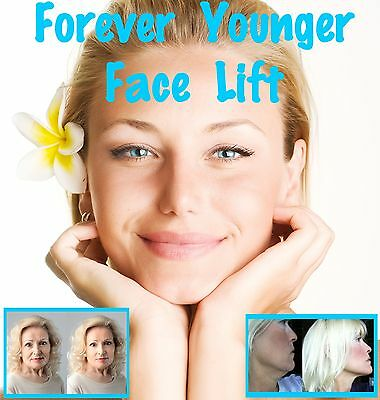 FOREVER YOUNGER INSTANT Face Lift with tapes  BEST facelift secret online!