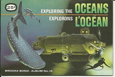 Brooke Bond Canada -  Exploring The Oceans  Album #14