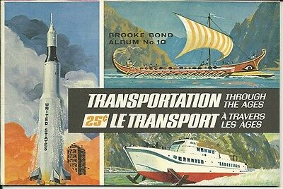 Brooke Bond Canada -  Transportation Through The Ages  Album #10