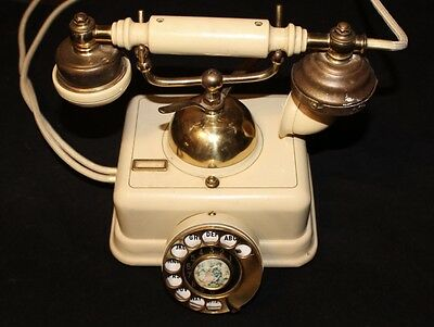 Antique Rotary Phone French Style Vintage Old Fashioned Telephone Princess Retro
