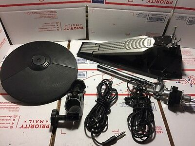 Roland FD-7 & CY-5 hi hat combo - pedal and cymbal with rack clamp cables arm 6v