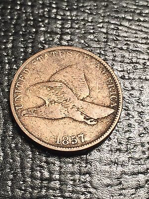 1857 Flying Eagle Cent 1c