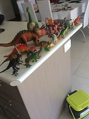 Bulk Lot 28 Assorted Pre Loved Toy Dinosaurs