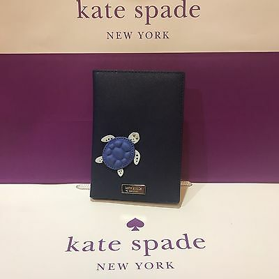 Brand New Kate Spade Imogene Turtle Under The Sea Passport & Credit Card Holder!