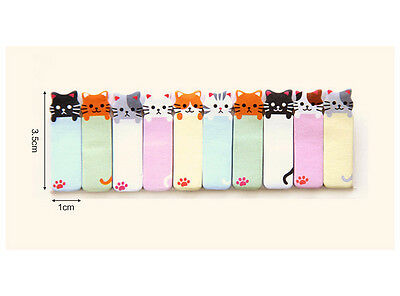 Kitty Cat 150 Pages Sticker Post It Bookmark Notepad Index Tab Sticky Notes ~