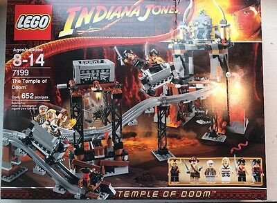 LEGO 7199 Indiana Jones The Temple of Doom FACTORY SEALED - FREE SHIPPING