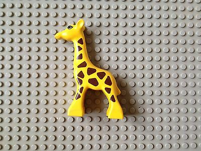 Lego Duplo Yellow Giraffe Animal Minifig Accessories