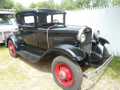 1931 Ford Model A  1931 FORD MODEL A COUPE ALL ORIGINAL BARN FIND OR HOTROD