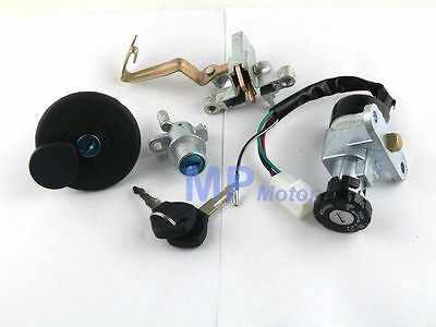 GY6 Key Ignition Switch Lock Set Lance Charming Tank Scooter Moped