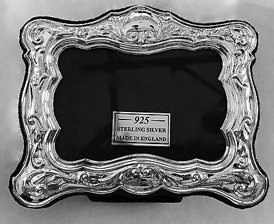 Hallmarked Sterling Silver English Picture Frame
