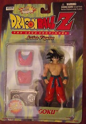 Dragon Ball Z GOKU Action Figure IRWIN NEW DBZ Dragonball