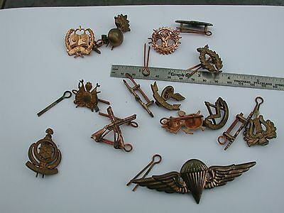 Iraq insignia back from Desert Storm 13 pieces 1993 including paratrooper
