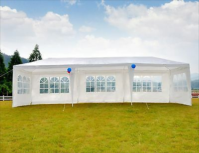 New 10'x30' Canopy Party Tent Wedding Outdoor Gazebo Patio BBQ 8 Removable walls