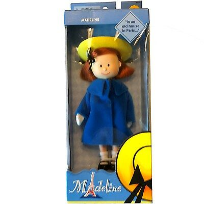New 2002 Madeline Poseable Doll #84100 ~ Retired, Mib