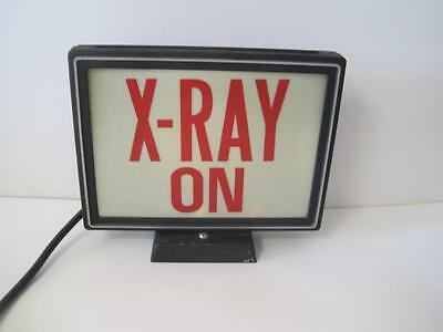 Awesome Vintage X-Ray On Lighted Sign Light Up Industrial Steampunk Metal