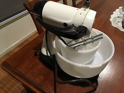 Vintage Sunbeam Mixmaster Early Model Retro