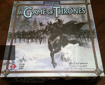 Game of Thrones Board Game - First Edition