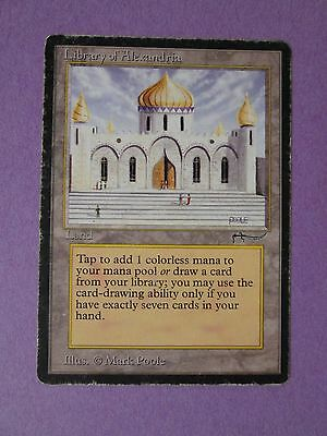 Magic the Gathering MTG - Arabian Nights - 1x Library of Alexandria