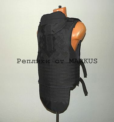 Replica armor Diagonal Molle Defender 2, Russian bullet vest, black and olive