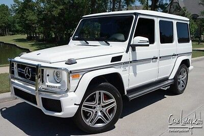 2016 Mercedes-Benz G-Class  Mercedes Benz G63 AMG loaded leather premium turbo Crave Luxury Auto