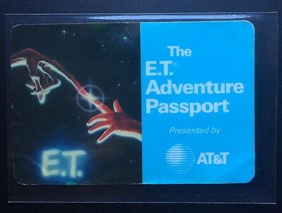 The E.T. Adventure Passport - 1991 - Universal Studios Hollywood - ONE OF A KIND