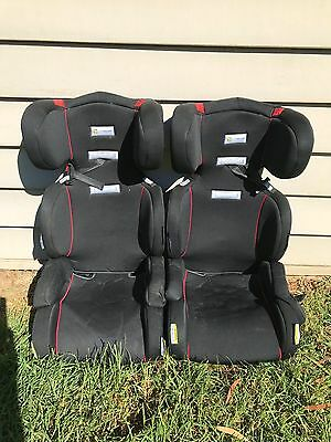 Infa-secure booster seats x 2