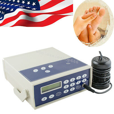 USA Professional Ionic Detox Foot Bath&Spa Chi Cleanse Machine Health Care Gift