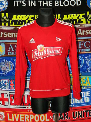 5/5 Fredrikstad FK signed adults M rare football soccer top
