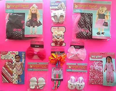DOLL CLOTHES 18 Inch DOLLS AMERICAN GIRL ~ LOT of 7 ~ NEW