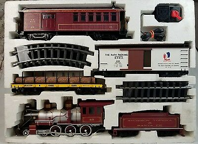 """Bachmann Big Haulers Red Comet Elect """"G"""" Scale Train Set"""