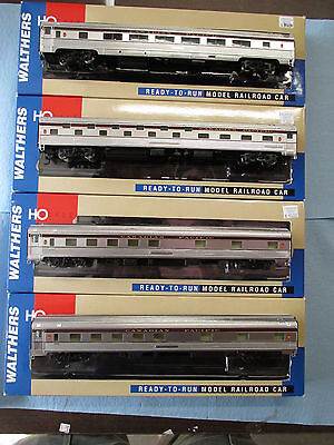 Ho Scale Walthers 85' Budd Passenger Cars Canadian Pacific - 4 Cars 3 Types